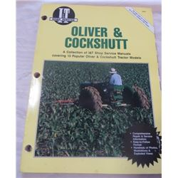 I AND T SHOP SERVICE MANUALS (OLIVER AND COCKSHUTT)