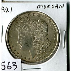 SILVER DOLLAR (USA MORGAN) * 1921*