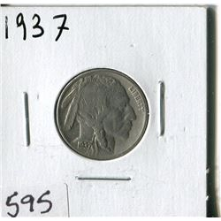 5 CENT COIN (USA, INDIAN HEAD) *1937*