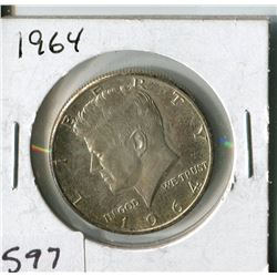 FIFTY CENT COIN (USA, KENNEDY) * 1964*