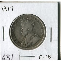FIFTY CENT COIN ( CANADA) * 1917*