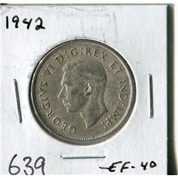 FIFTY CENT COIN ( CANADA) * 1942*