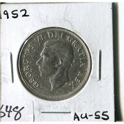 FIFTY CENT COIN ( CANADA) * 1952*