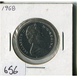 FIFTY CENT COIN ( CANADA) * 1968*