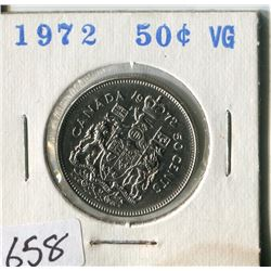 FIFTY CENT COIN ( CANADA) * 1972*