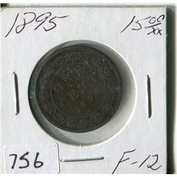 CANADA ONE CENT COIN (1895)