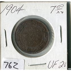 CANADA ONE CENT COIN (1904)