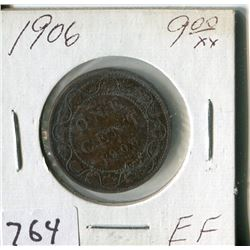 CANADA ONE CENT COIN (1906)
