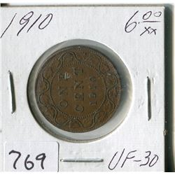 CANADA ONE CENT COIN (1910)
