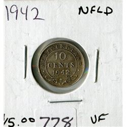 N.F.L TEN CENT COIN (1942)