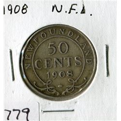 N.F.L. FIFTY CENT COIN (1908)