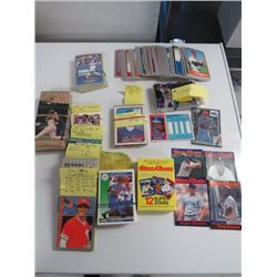 LARGE LOT OF ASSORTED BASEBALL CARDS (1985 ALL STAR, 1991 PACIFIC, 1992 SCORE, 1989, 90, 91, 92, FLE