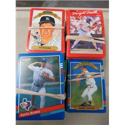 LARGE LOT OF ASSORTED BASEBALL CARDS  (DONRUSS, ETC..) *MANY DIFFERENT TEAMS AND PLAYERS*