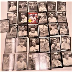 LOT OF ASSORTED BASEBALL CARDS (COBB, WALBERG, JACKSON, ETC…)