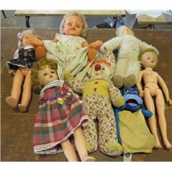 LOT OF ASSORTED DOLLS