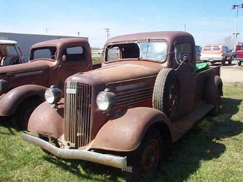 Image 1 1936 Gmc ½ Ton Pickup For Rod Or Re A17