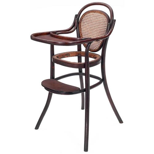 - Thonet High Chair,bent Wood