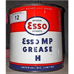 VINTAGE ESSO GREASE TIN