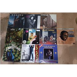 10 VINTAGE ROCK AND BLUES RECORDS