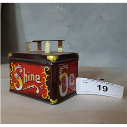 SHOE SHINE TIN MINIATURE
