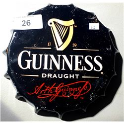 GUINNESS METAL BEER SIGN