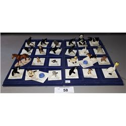 APPROX 26 PORCELAIN FIGURINES