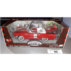 TEXACO 1956 FORD THUNDERBIRD DIE CAST CAR 1:18 SCALE, N.O.S. UNOPENED PACKAGE