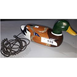 VINTAGE DUCK TELEPHONE