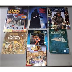 7 STAR WARS BOOKS