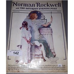LARGE HARD COVER NORMAN ROCKWELL AND THE SATURDAY EVENING POST BOOK