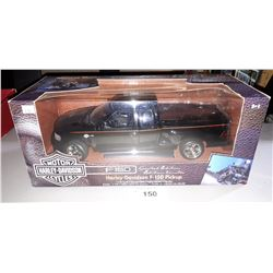 LIMITED EDITION HARLEY DAVIDSON F-150 PICKUP DIE CAST, 1:18 SCALE, UNOPENED PACKAGE