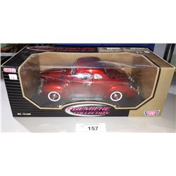 1940 FORD DIE CAST, 1:18 SCALE, UNOPENED PACKAGE