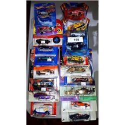 18 HOT WHEELS, MATCHBOX, JOHNNY LIGHTNING DIE CAST CARS