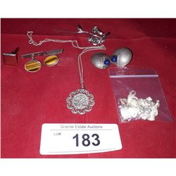 BAG OF HALLMARKED JEWELRY