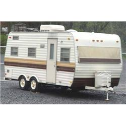 1977 Yellowstone 20 Camper Trailer Showroom Cond