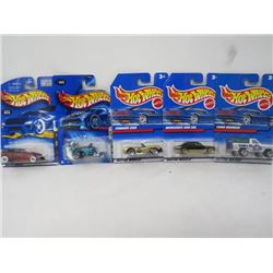 HOTWHEELS 5 VEHICLE LOT (FORD BRONCO, MERCEDES 380 SEL, FERRARI 250, FINAL RUN, PHAETON)