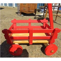 LITTLE WOOD WAGON (RED)