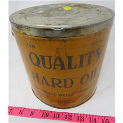GREASE TIN (MARSHELL WELLS) *10 POUND*