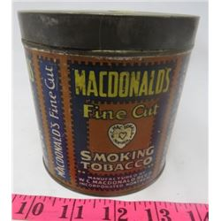 TOBACCO TIN (MACDONALDS)