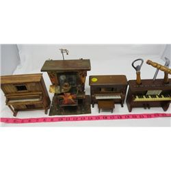 LOT OF 4 MUSIC BOXES