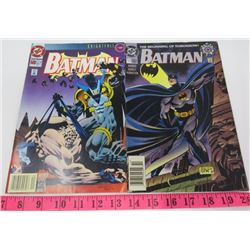 LOT OF 2 COMIC BOOKS (BATMAN COMES) *OCT 1993 AND 1994*