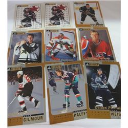 LOT OF HOCKEY CARDS (BEEHIVE AUTOGRAPHS) *2 X PIERRE DAGENAIS* (BEEHIVE DOUBLES 14, 20, 27, 32, 34,