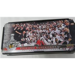 LOT OF HOCKEY CARDS (COMMEMORATIVE SET) *CHICAGO BLACKHAWKS* (2013 STANLEY CUP CHAMPIONS)