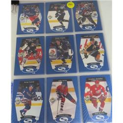 LOT OF HOCKEY CARDS ((1998-1999) *SQ1 TO SQ30* (SET OF 30) *UD CHOICE STARQUEST BLUE*