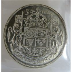 FIFTY CENT COIN (1937) *CANADA*