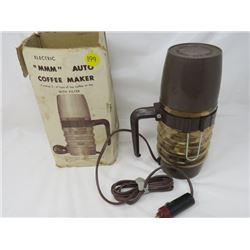 COFFEE MAKER (VINTAGE) *12V CIGARETTE LIGHTER PLUG END*