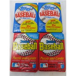 LOT OF BASEBALL CARDS (NEW IN PACKAGE) *WAX PACK*