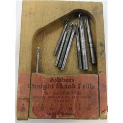 LOT OF DRILL BITS (VINTAGE)