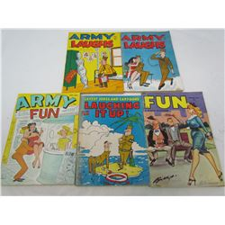 LOT OF ARMY LAUGHS MAGAZINES