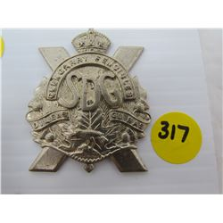 REGIMENT BADGES